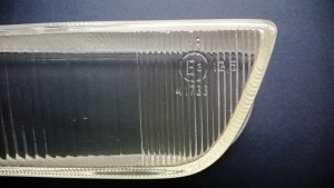 Ferrari Mondial fog flashing light L-H Lens EURO - 2